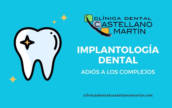 Implantología dental, adiós a los complejos